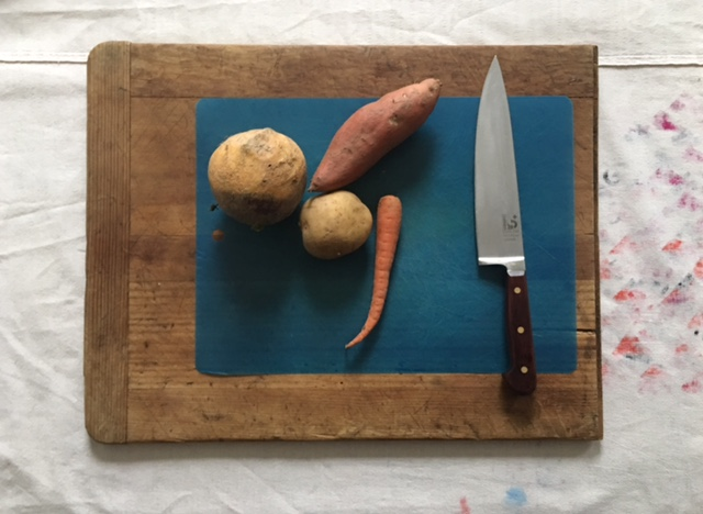 Root Vegetables Ready for carving