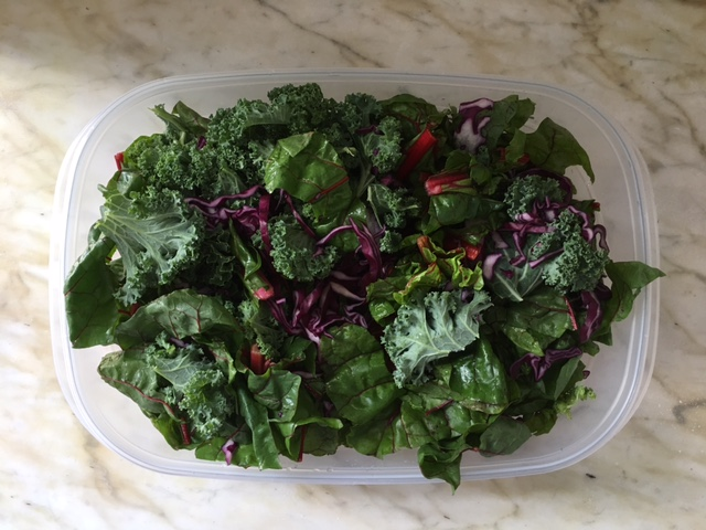 mixed greens ready for anything