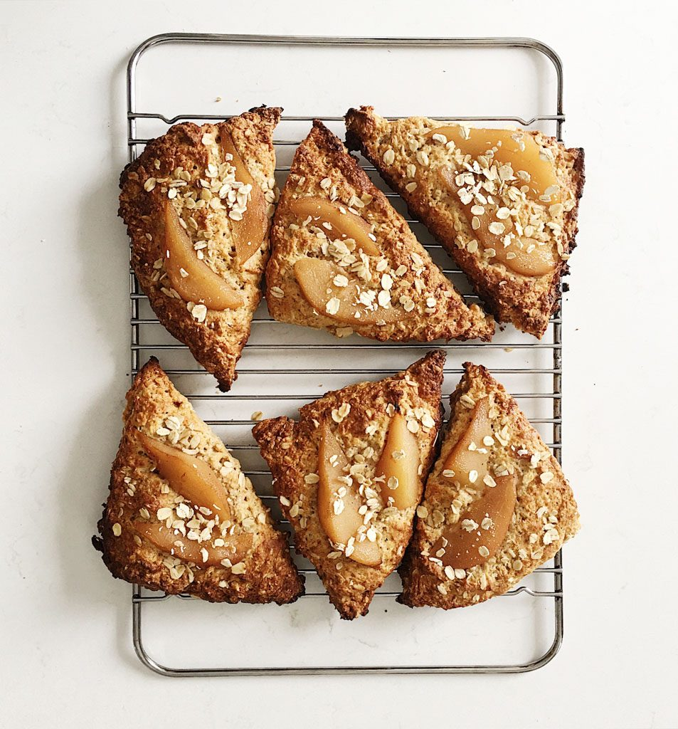 oatmeal scones with