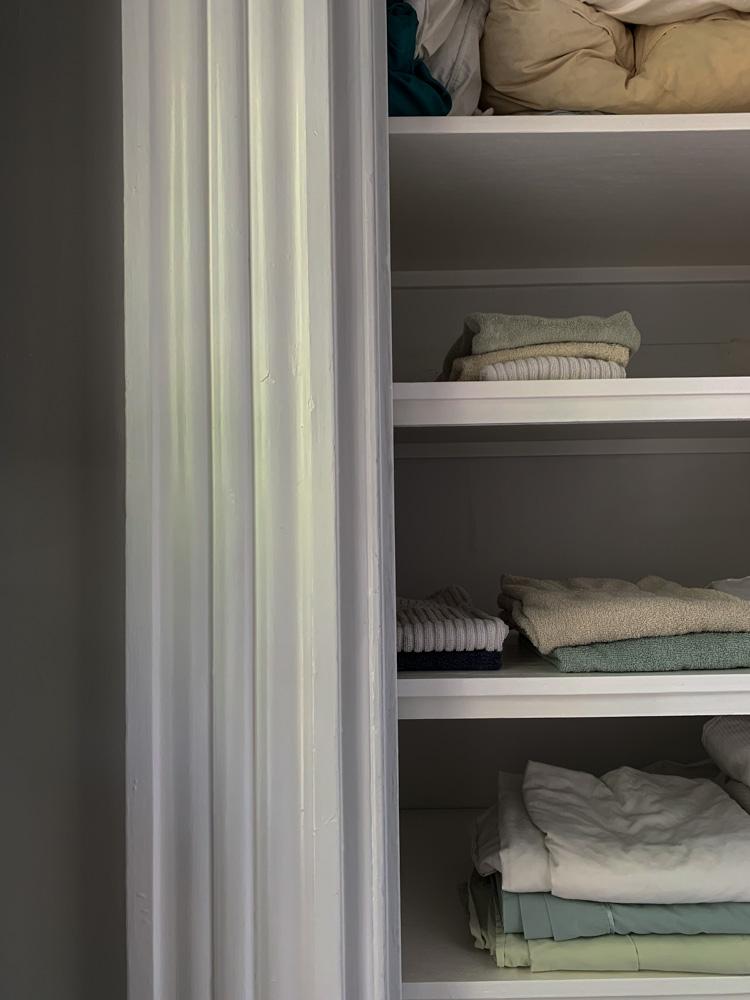 Linen Closet, bare