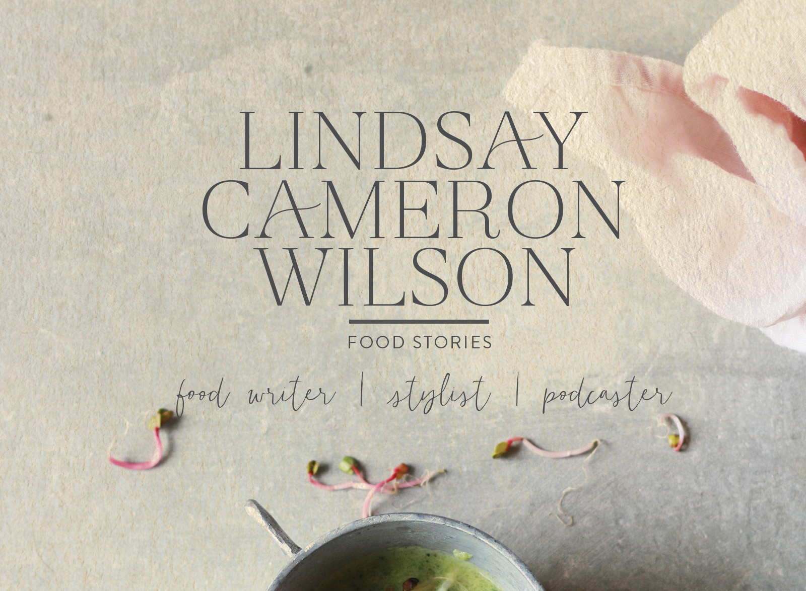 Food podcaster Lindsay Cameron Wilson