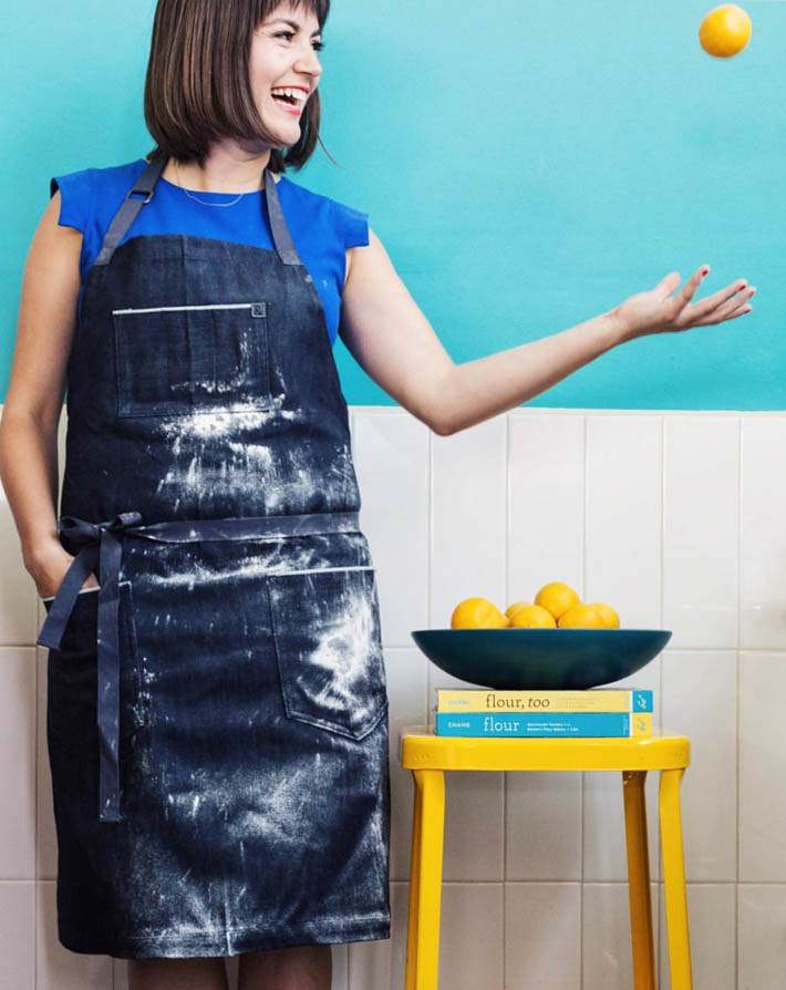 photo courtesy of Hedley & Bennett -Proper Bad Ass LA Made Aprons-instragram