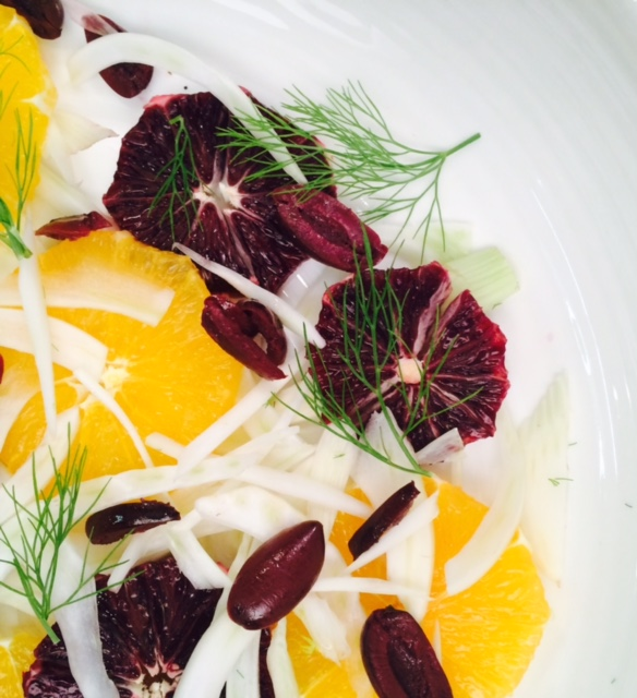 winter fennel salad with citrus and olives