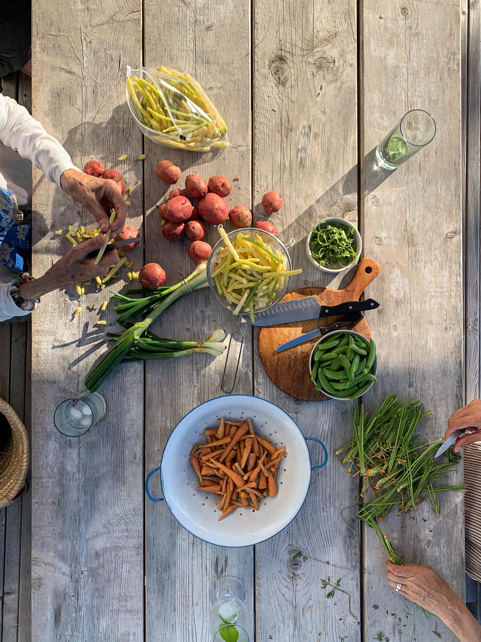 hodge podge vegetables
